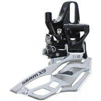 SRAM X9 3x10 High Direct Mount Bike Front Derailleur Mountain Biking Dual Pull
