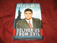 DELIVER US FROM EVIL SEAN HANNITY 2004 HD SIGNED 1P/1ED