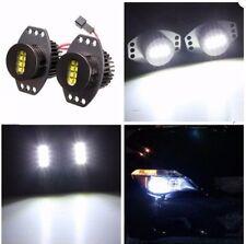 Coppia fari fendinebbia LED angel eye H8 64w per BMW E90 E91 2006-2008