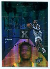 1997-98 SPx Hardcourt Holoview ANTOINE WALKER Rare Non-Die Cut Blank Back SP