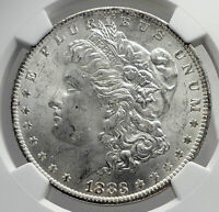 1883 UNITED STATES of America SILVER Morgan US Dollar Coin EAGLE NGC MS i80087