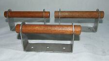 "New Lot Of 3 Universal Heavy Duty Brinkmann Wood Metal Grill Box Handles 5"""