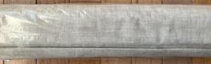 "New~Pottery Barn Emery Linen Cotton Roman Blackout Shade~Oatmeal~32x64"""