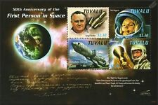 YURI GAGARIN/John Glenn/Korolev/VOSTOK Rocket/First Man in Space Stamp Sheet