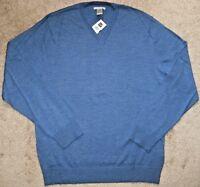Gap Italian Merino Wool Sweater.Men. M,XL,XXL.Long Sleeve.NWT.100% Merino wool
