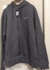 Nike  Full Zip Hoodie Color Gray  Size 2XL