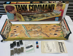 Vintage 1975 Ideal Toy TANK COMMAND Game Complete Tanks Instructions Dispensa's
