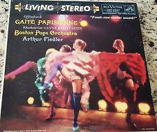 FIEDLER offenbach gaite parisienne LP VG+ LSC-2267 Living Stereo USA 1959 SD