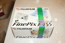 Fujifilm FinePix F Series F455 5.2MP Digital Camera - Silver