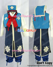 Monster Hunter 3rd Cosplay Nadesiko Uniform Costume Blue Ver H008