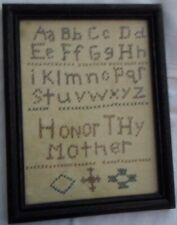 Sampler, Honor Thy Mother