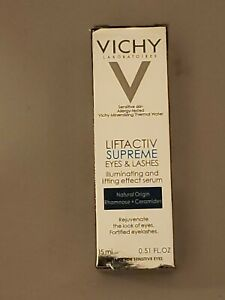 VICHY Liftactiv Supreme Eyes & lashes Rejuvenate 0.51 oz Expiration: 07/2021+
