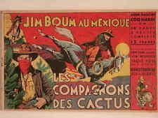 COQ HARDI MAGAZINE N°15 JIM BOUM : LES COMPAGNONS DES CACTUS (MARIJAC) 1946