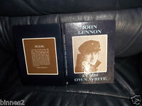 THE BEATLES IN HIS OWN WRITE! JOHN LENNON 'S FIRST BOOK SEPT 1964 NICE CONDITION