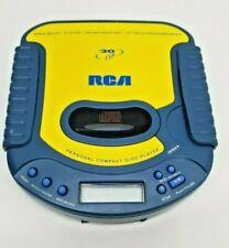 Rca Splash Resistant Portable Cd Player Model Rp-2025A