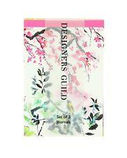 Designers Guild Journal (pacco da 3) Super Mini Borsetta quaderni nuovi confezione da 3 a