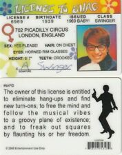 fantastic Austin Powers License to Shag The Spy who Shagged Me Drivers License
