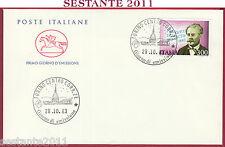 ITALIA FDC CAVALLINO FRANCESCO DE SANCTIS 1983 ANNULLO TORINO T328
