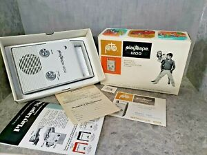 Vintage Playtape 1200 Portable Tape Player not tested but in original box clean