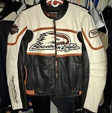 Harley-Davidson Screaming Eagle Racing Leather Jacket- MINT!!!
