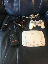 Sony Playstation 1 PS1 PSX Slim Console W/ Controllers Tested Working Used