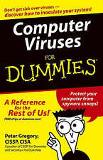 Computer Viruses For Dummies, Gregory, Peter H., 0764574183, Very Good Book