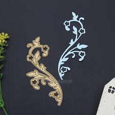 Rattan Gold Metal Cutting Dies Stencil DIY Scrapbooking Album Paper Card Craft