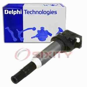 Delphi Ignition Coil for 2011-2016 BMW 535i 3.0L L6 Wire Boot Spark Plug  nn