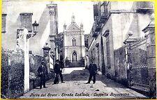 TORRE DEL GRECO Strada Sedivola Cappella Brancaccio viagg. 1909 Napoli - bella