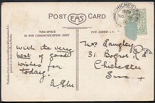 Genealogy Postcard - Family History - Fitness - London  BH5048