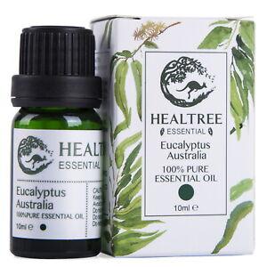 HEALTREE  Eucalyptus Australia 100% Pure Essential Oil 10 ml Made in Australia