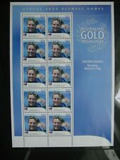 Australia 2004. Athens Olympics. Suzanne Balogh Sheet Mint.