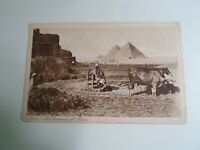 CAIRO Pyramids Of Giza+Egypt Army Post Stamp 1940 From 80 Squadron RAF   §E1696