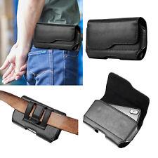Men's Leather Waist Bag Belt Loop Clip Holster Phone Holder Pouch Cover Sleeve