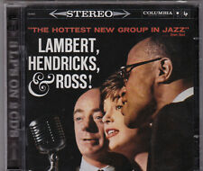 THE HOTTEST NEW GROUP IN JAZZ LAMBERT, HENDRICKS, and ROSS 2 CD COLUMBIA