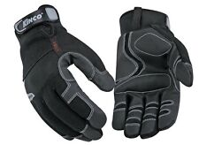 Kinco 2051-xl Mens Lined Cold Weather Gloves Mirax2 Synthetic Leather Palm