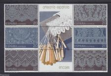 Spain Stamps - 1989 Lace Sheet Of 9 Stamps In MNH Condition
