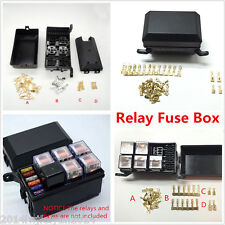Auto Car Fuse Relay Holder Box Relay Socket 6 Relay 5 Road The Nacelle Insurance
