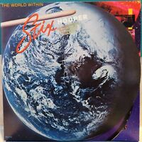 Stix Hooper: The World Within. 1979 MCA LP / Vinyl Jazz Fusion. Promo Stamp