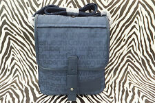 CALVIN KLEIN Med Body Bag CEP008 Blue Jacquard Flight Shoulder Bags BNWT RRP£112