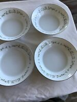 Set of 4 Dessert Bowls-Sheffield China Fine China of Japan ELEGANCE #502 5-3/4""