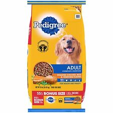 Pedigree Adult Complete Nutrition, 55 lbs, Dog Food, For Health&Vitality NEW!!