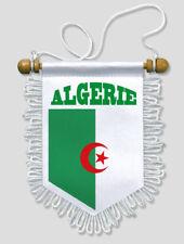FANION VOITURE ALGERIE MOTIF 2 - 13 X 15 CM - BLASON ECUSSON FOOTBALL