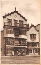 R288685 Mols Coffee House. Exeter. H. 3317. Sepiatype. Valentines