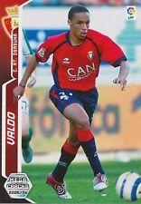 N°246 VALDO # CAPE VERDE CA.OSASUNA  CARD PANINI MEGACRACKS LIGA 2006