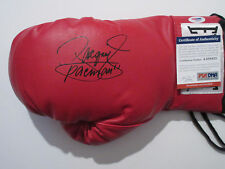 MANNY PACQUIAO SIGNED LEATHER EVERLAST BOXING GLOVE PSA/DNA COA AA88423 PACMAN