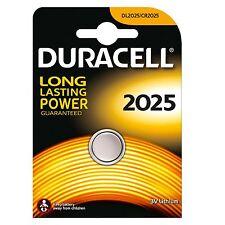 2x blisters de pila Botón Duracell Cr2025 3V Batería litio Cell Battery Dl2025