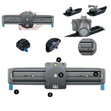 "A&J Camera Slider 11"" Mini Video Track Slider with Panoramic Shot Camera Slider"