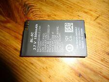 Akku Handy Metom MT 309 DUALSIM MT309 BL-5C - 1500 mAh