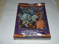 SPARE CHANGE by BRODERBUND for APPLE (DISK) SEALED NEW old stock VERY RARE!